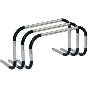 Barreirinha de alumínio para treinamento Pista e Campo - Largura: 60cm - cnj com 3 und com alturas de 40, 50 e 60cm