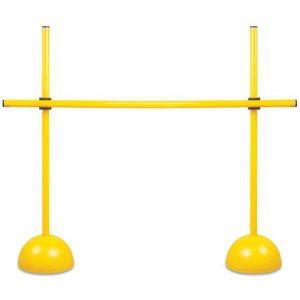 Obstáculo de PVC para treinamento Pista e Campo - Largura: 170cm. Altura ajustável até 170cm