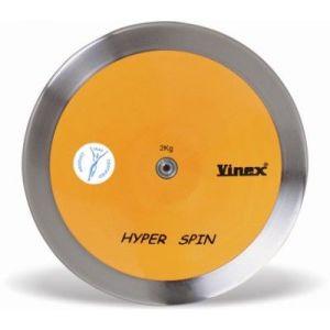 Disco de aço inox e ABS 1kg avançado IAAF Vinex