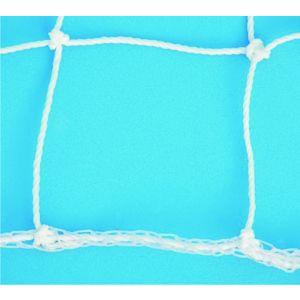 Rede oficial de futebol de campo europeu 7,50m em polietileno com fio 3mm Pista e Campo
