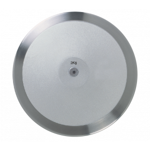 Disco oficial de aço e alumínio 1,5kg Pista e Campo