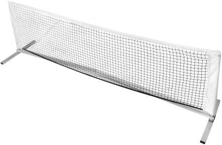 Rede portátil para mini-tênis com postes e estrutura de alumínio com 3x1m Pista e Campo