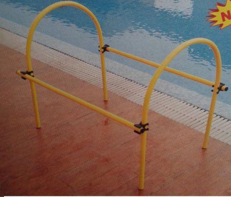 Túnel de arcos de PVC para natação fixo Pista e Campo