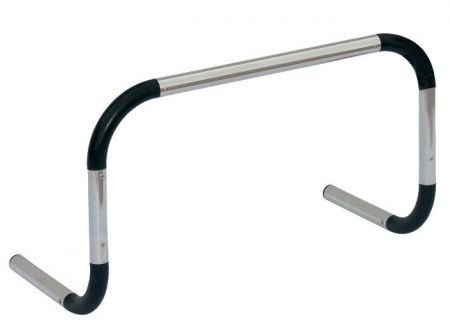 Barreirinha de alumínio para treinamento Pista e Campo - Largura: 60cm. Altura: 50cm