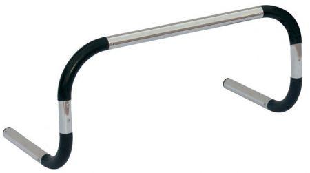 Barreirinha de alumínio para treinamento Pista e Campo - Largura: 60cm. Altura: 40cm