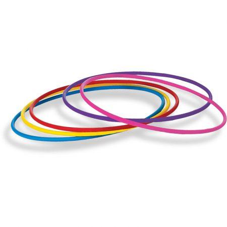 Arco de ginástica rítmica modelo competição colorido 80cm Pista e Campo