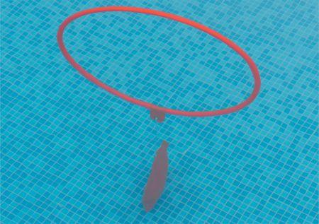 Arcos flutuantes de PVC para natação com altura ajustável Pista e Campo - cnj com 6 und