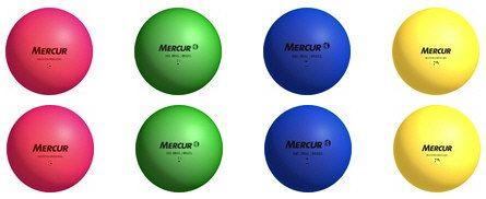 Bola de borracha nº 3 cores sortidas Mercur - cnj com 8 und