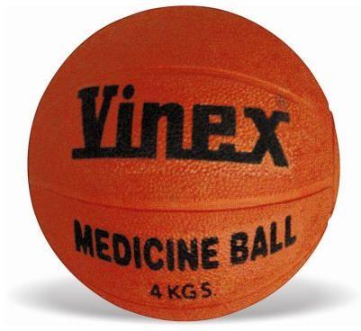 Bola medicinal (medicine ball) de borracha 1kg Vinex
