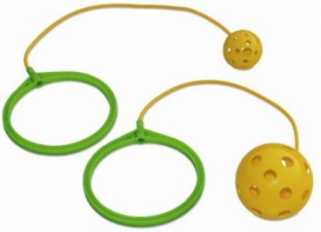 Bolinha de pular (com argola e corda) para recreação infantil Pista e Campo