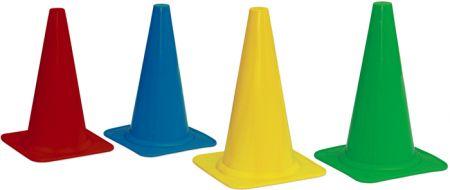 Cone de sinalização 23cm de PVC premium Pista e Campo