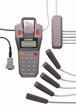 Cronômetro profissional multi-usuários com oito botões a cabo e impressora Ultrak