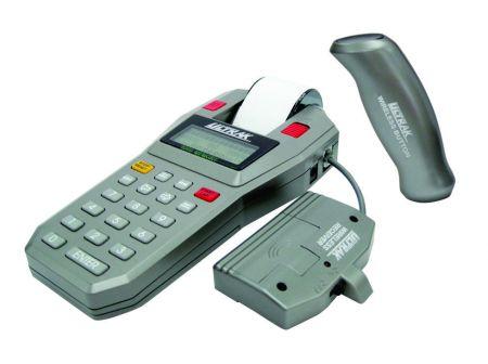 Cronômetro profissional multi-usuários com oito botões sem fio e impressora Ultrak