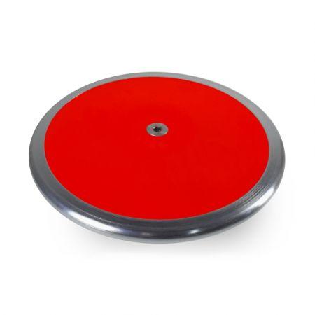 Disco de aço e ABS 2kg intermediário com pratos substituíveis IAAF Vinex capa