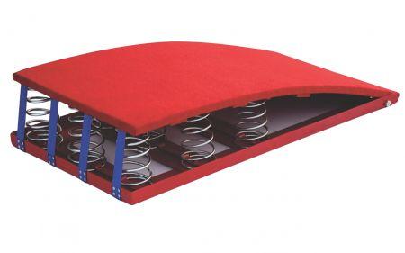 Equipamento para ginástica (trampolim) tipo reuther com molas Vinex