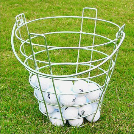 Suporte de aço para bolas de golfe Pista e Campo