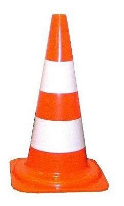 Cone de Sinalização 75cm Vonder