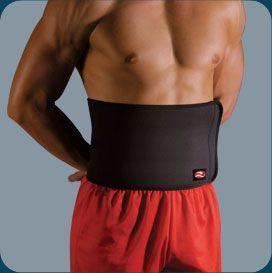 Faixa abdominal de neoprene 20cm Realtex