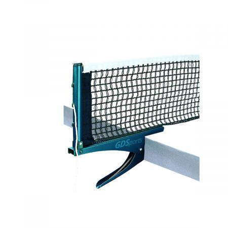 Rede de tênis de mesa oficial de algodão com suportes GDS