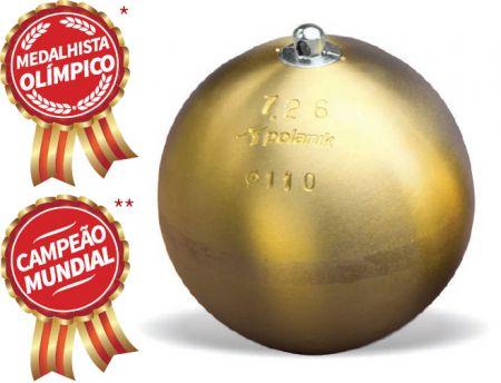 Martelo de bronze 7,26kg 110mm IAAF Polanik