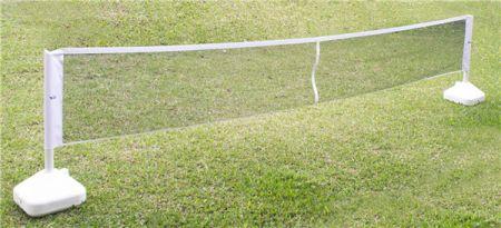 Postes com rede para mini-tênis Pista e Campo