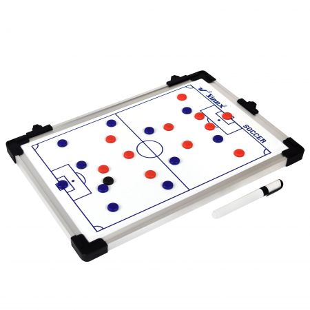 Quadro tático para treinamento esportivo futebol 60x45cm Vinex