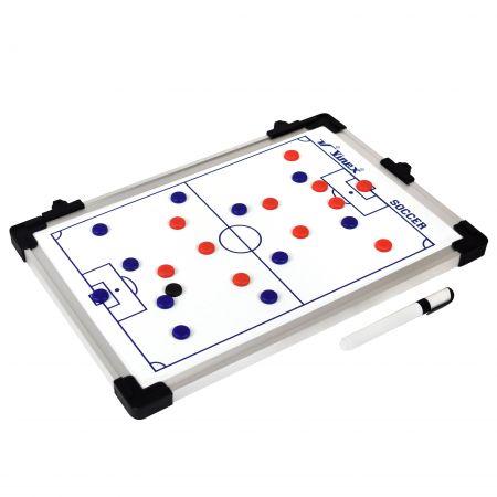 Quadro tático para treinamento esportivo futebol 45x30cm Vinex