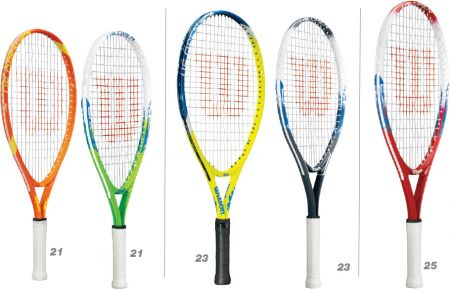 Raquete de tênis infanto juvenil US Open Wilson