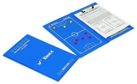 Prancheta magnética para treinador esportivo (várias modalidades) Vinex