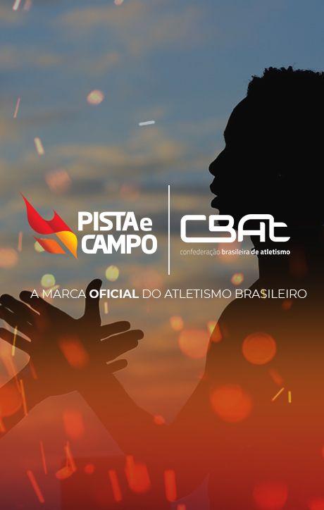 Pista e Campo - A Marca Oficial do Atletismo Brasileiro